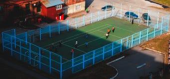 παιχνίδι της Οξφόρδης πεδίων κολλεγίων merton Στοκ φωτογραφία με δικαίωμα ελεύθερης χρήσης
