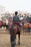 Παιχνίδι του Αφγανιστάν Buskashe Στοκ φωτογραφίες με δικαίωμα ελεύθερης χρήσης