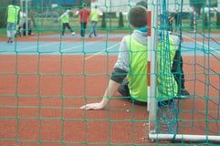 Παιχνίδι του ποδοσφαίρου Στοκ εικόνες με δικαίωμα ελεύθερης χρήσης