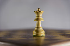 Παιχνίδι του σκακιού, βασίλισσα Στοκ φωτογραφία με δικαίωμα ελεύθερης χρήσης