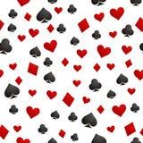 Παιχνίδι υποβάθρου καρτών διάνυσμα Στοκ φωτογραφία με δικαίωμα ελεύθερης χρήσης