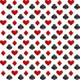 Παιχνίδι υποβάθρου καρτών διάνυσμα Στοκ Εικόνες