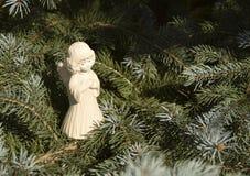 Παιχνίδι Χριστουγέννων υπό μορφή αγγέλου Στοκ Εικόνες