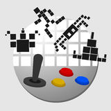 Παιχνίδι Arcade Στοκ εικόνα με δικαίωμα ελεύθερης χρήσης