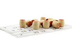 Παιχνίδι Bingo Στοκ Φωτογραφία