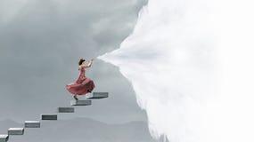 Παιχνίδι fife γυναικών Στοκ φωτογραφίες με δικαίωμα ελεύθερης χρήσης