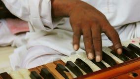 Παιχνίδι Harmonium από έναν καλλιτέχνη απόθεμα βίντεο