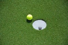 Παιχνίδι Minigolf Στοκ φωτογραφία με δικαίωμα ελεύθερης χρήσης