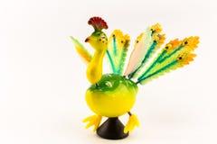 Παιχνίδι Peacock στοκ φωτογραφίες
