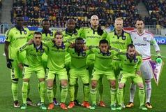 Παιχνίδι Shakhtar Ntone'tsk ένωσης UEFA Ευρώπη εναντίον Anderlecht Στοκ φωτογραφία με δικαίωμα ελεύθερης χρήσης