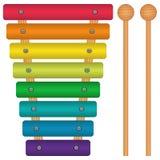 Παιχνίδι Xylophone Στοκ Φωτογραφία