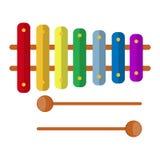 Παιχνίδι Xylophone Στοκ εικόνα με δικαίωμα ελεύθερης χρήσης