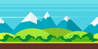 Παιχνιδιών διανυσματική απεικόνιση ύφους υποβάθρου επίπεδη Στοκ φωτογραφίες με δικαίωμα ελεύθερης χρήσης