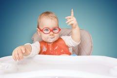 Παιδάκι με τα γυαλιά Στοκ φωτογραφία με δικαίωμα ελεύθερης χρήσης