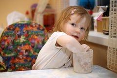 Παιδί 5 αρχιμαγείρων στοκ φωτογραφία με δικαίωμα ελεύθερης χρήσης