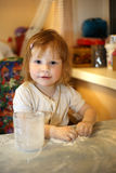 Παιδί 2 αρχιμαγείρων στοκ φωτογραφίες