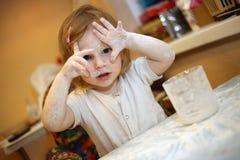 Παιδί αρχιμαγείρων στοκ εικόνες με δικαίωμα ελεύθερης χρήσης