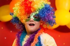 Παιδί καρναβάλι - Βραζιλία στοκ φωτογραφία