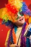 Παιδί καρναβάλι - Βραζιλία στοκ εικόνες
