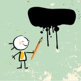 Παιδί καλλιτεχνών ελεύθερη απεικόνιση δικαιώματος