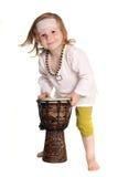 Παιδί με ένα τύμπανο Στοκ φωτογραφίες με δικαίωμα ελεύθερης χρήσης