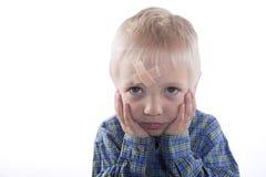 Παιδί με το ασβεστοκονίαμα Στοκ εικόνα με δικαίωμα ελεύθερης χρήσης