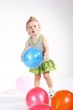 παιδί μπαλονιών Στοκ φωτογραφία με δικαίωμα ελεύθερης χρήσης