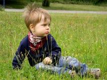 παιδί ονειροπόλο Στοκ Φωτογραφίες