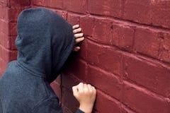 παιδί που πιέζεται Στοκ φωτογραφία με δικαίωμα ελεύθερης χρήσης