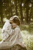 παιδί που χάνεται Στοκ Φωτογραφία