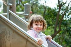 Παιδί στην παιδική χαρά Στοκ Εικόνες