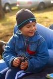Παιδί στη φύση Στοκ Εικόνες