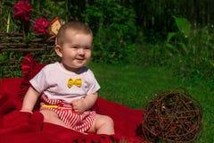 παιδί υπαίθρια Στοκ Φωτογραφία
