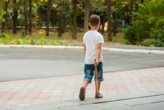 παιδί 11 φθινοπώρου Στοκ Φωτογραφία