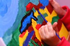 παιδί s τέχνης Στοκ Εικόνες