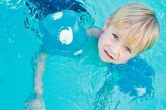 Παιδί swimming-pool στοκ εικόνες