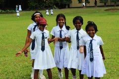 Παιδιά από τη Σρι Λάνκα Στοκ εικόνα με δικαίωμα ελεύθερης χρήσης