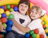 παιδιά γενεθλίων ευτυχή Στοκ Εικόνα