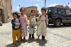 Παιδιά Γιεμενιτών, Sanaa Στοκ εικόνα με δικαίωμα ελεύθερης χρήσης