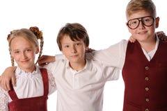 παιδιά ευτυχή από κοινού Στοκ φωτογραφία με δικαίωμα ελεύθερης χρήσης