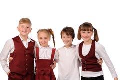 παιδιά ευτυχή από κοινού Στοκ Φωτογραφία
