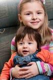 παιδιά ευτυχή Στοκ φωτογραφίες με δικαίωμα ελεύθερης χρήσης