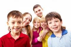 παιδιά εύθυμα Στοκ εικόνες με δικαίωμα ελεύθερης χρήσης