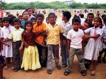 παιδιά Ινδός Στοκ Φωτογραφία