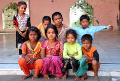 παιδιά Ινδός Στοκ Φωτογραφίες