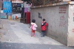 παιδιά κινέζικα Στοκ φωτογραφία με δικαίωμα ελεύθερης χρήσης