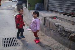 παιδιά κινέζικα Στοκ Φωτογραφία