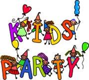 Παιδιά κόμματος ελεύθερη απεικόνιση δικαιώματος