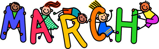 Παιδιά Μαρτίου απεικόνιση αποθεμάτων