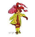 Παιδιά λουλουδιών Στοκ εικόνα με δικαίωμα ελεύθερης χρήσης